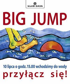 """Weź udział w akcji """"Big Jump"""". W tym samym dniu o tej samej godzinie ludzie z wielu krajów wchodzą do rzek, stawów, jezior, mórz i innych akwenów. Wyraź swoje poparcie dla czystych rzek. Zachęć do tego współpracowników, rodzinę, przyjaciół czy sąsiadów!<br /><br />Nasze Stowarzyszenie po raz kolejny postanowiło dołączyć do akcji koordynowanej przez Klub Gaja. BIG JUMP to europejska inicjatywa dla czystych rzek, która w tym roku odbędzie się 10 lipca (niedziela) o godz. 15.00.  Spotkania nad wodą w tym samym czasie będą miały miejsce w całej Europie, bo tak obywatele Europy manifestują swoje poparcie dla czystych i żyjących rzek, potrzebnych ludziom i zwierzętom. Klub Gaja każdego roku zaprasza Polki..."""