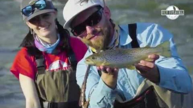 FLY FISHING IN POLAND DUNAJEC RIVER 2019